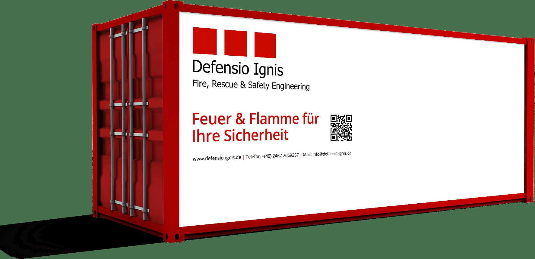 Defensio Ignis Brandschutzcontainer