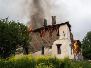 Alte Gebäude sind feuergefährdet